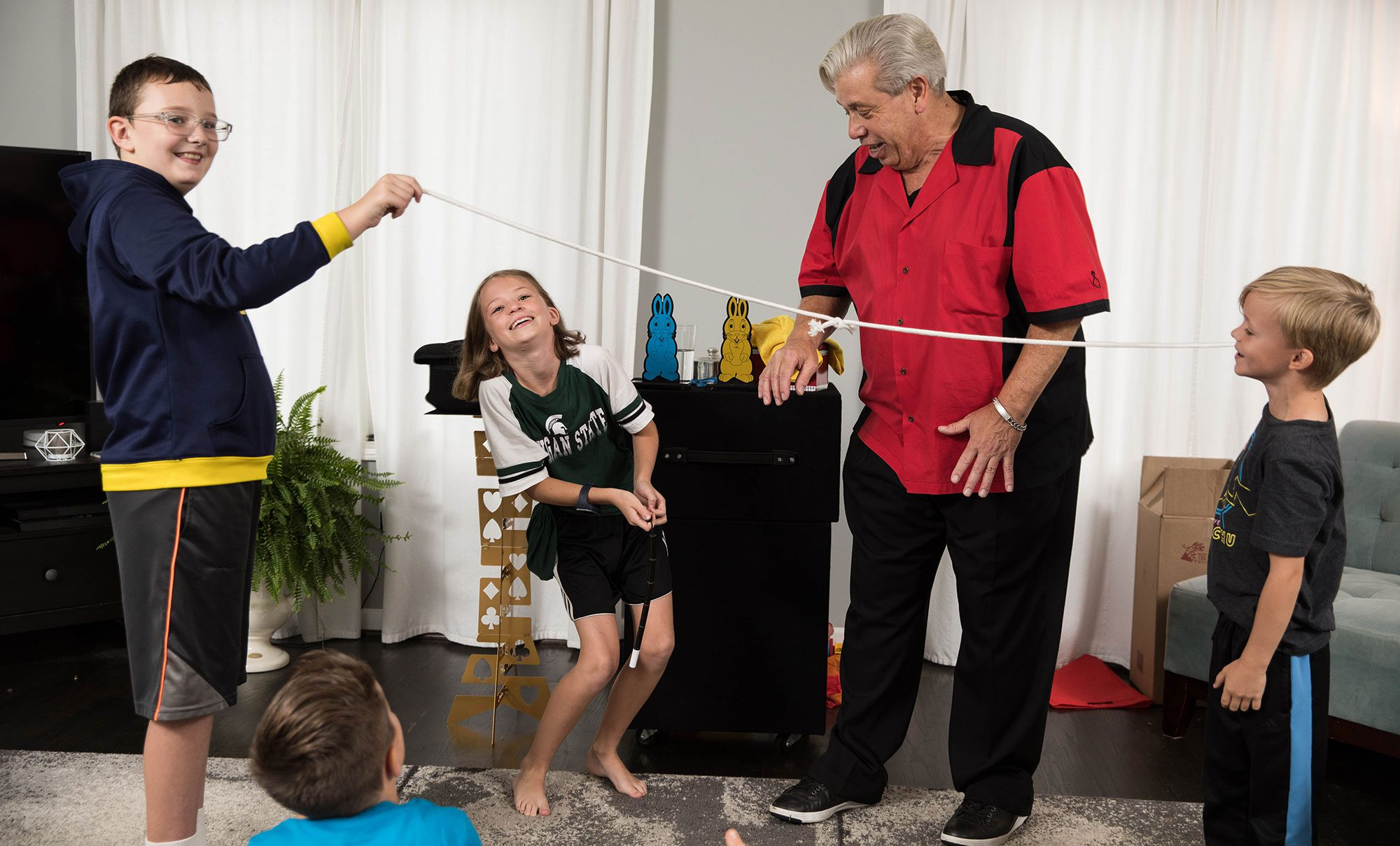 Magician for Birthday Party